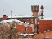 Оригинальная водонапорная башня венчает архитектурный  ансамбль