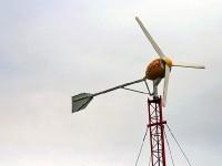Ветряная электростанция в Дурнихе