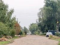 Ухабистая дорога в Кулаково