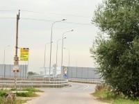 Выезд из деревни на трассу в Жуковский