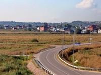 Вид на Кулаково с Жуковской эстакады