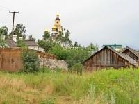 На окраине Михайловской слободы