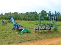 Детская площадка в Михайловской Слободе