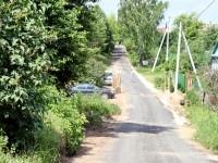 Свежезаасфальтированная дорога - июнь 2013