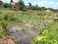 Затопленные огороды - вода не уходит