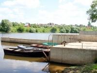 Лодки у причала - июнь 2013