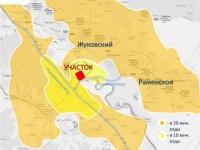 Торговый центр в Чулково - зона охвата