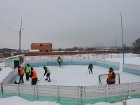 Хоккей на фоне самостроя