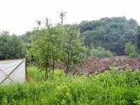 На месте Боровской переправы и старой дороги развернулись земляные работы