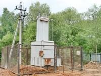 Перенесенный к будущему храму трансформатор - август 2013