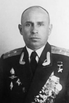 Николай Валерьевич Новожилов - послевоенное фото