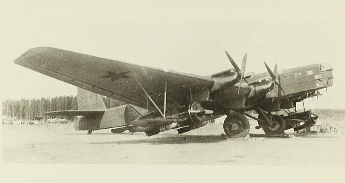 Самолет ТБ-3