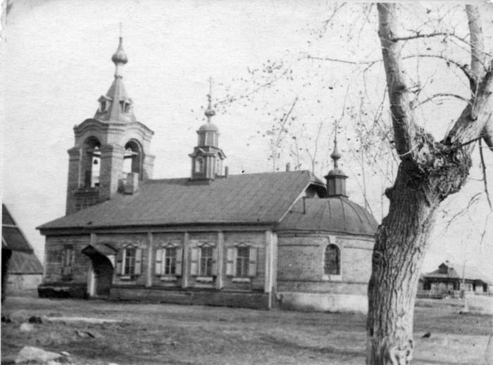 Вид тураевского храма в наачале 20-го века