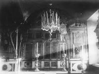Убранство храма в селе Михайловская Слобода, 1912 год