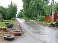 Конец заасфальтированной дороги