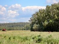 Возле карьера у поселка Володарского
