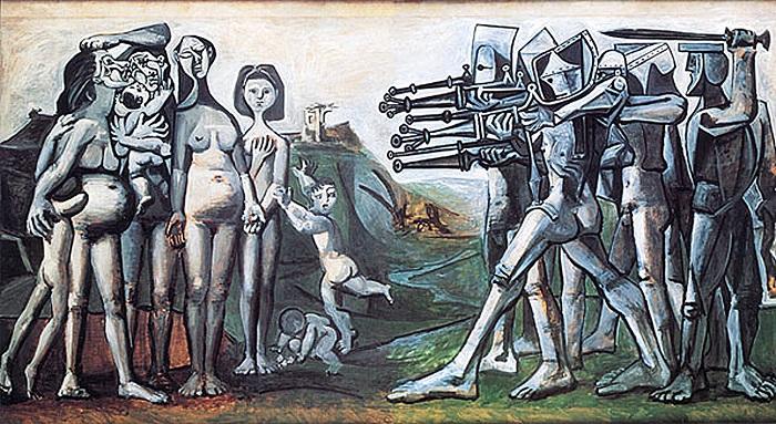 Война в Корее, Пикассо
