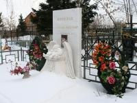 Кладбище в Зеленой Слободе - могила Михедова Владислава Олеговича