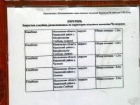 Список кладбищ в сельском поселении Чулковское