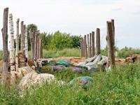 Заброшенные теплицы китайского колхоза у Дурнихи