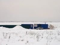 Вагончики у Щеголево зимой 2012
