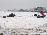 Работы зимой 2012 года у Щеголево