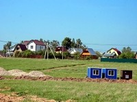 Начало освоения территории коттеджного поселка Европейский Квартал у деревни Щеголево