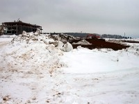 Февраль 2013 - планировка территории напротив Чулково Клаб