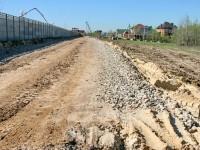 Стройка дороги - май 2013