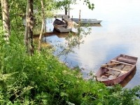 Лодки на берегу - июнь 2013