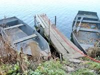 Лодки жителей Титово