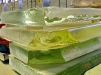 Необработанная продукция стекловаренного цеха