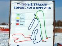 Маршрут трасс Боровского Кургана