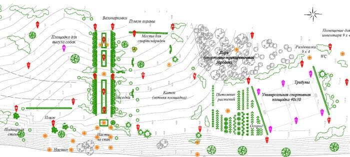 Проект освоения прибрежной зоны в Григорчиково