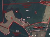 Текущеее состояние территории между Прудками и Щеголево