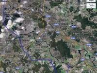 Проезд в Титово по Каширке и Молоковскому Володарскому шоссе