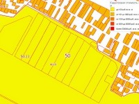 Кадастровый план поля возле Титово
