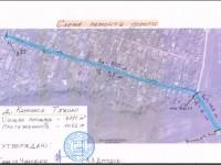 Схема ремонта дороги в Каменном Тяжино