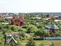 Вид с крыши Ново-Молоково