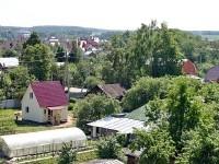Вид с Ново-Молоково в сторону Казанского лесопарка