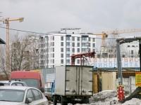 Вид от торгового центра на Ново-Молоково