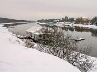 Москва-река у Боровского Кургана