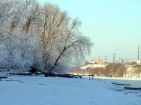 Берег Москва-реки в деревне Нижнее Мячково
