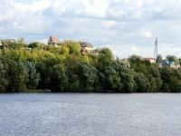 Вид на дачные участки на другом берегу Москва-реки