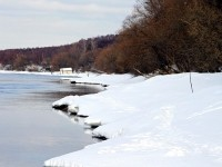 Берег Москва-реки от Пахры до Боровского Кургана