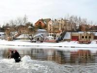Водные забавы у Белого берега