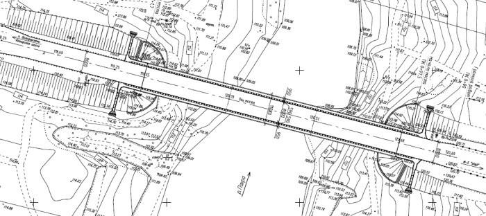 Из рабочей документации моста через Пахру