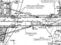 Документация моста через Пахру - вид сверху