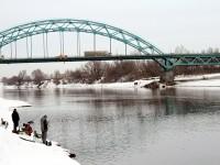 Вид на мост от  берега Заозерья