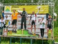 Победители в категории M30-39 Трохин Виктор, Кузьмин Дмитрий, Николаев Федор